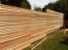 brise-vue bois occultation extérieur tendance idée diy bois