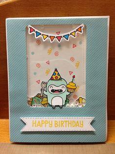 Birthday: yeti cake by WorldofCreativity, via Flickr