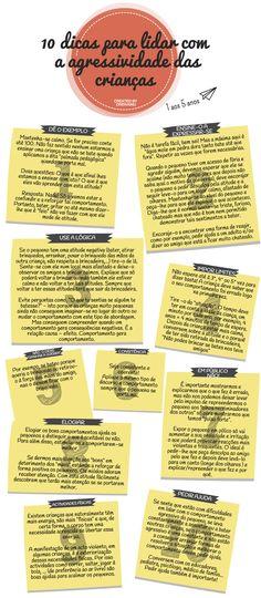 O REI VAI NU: 10 dicas para lidar com a agressividade das crianças http://oreivainublog.blogspot.pt/2015/10/10-dicas-para-lidar-com-agressividade.html