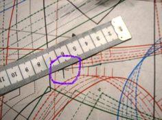 A method for enlarging or shrinking a pattern.