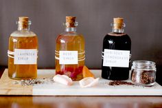 Floral Syrups 1