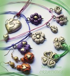 Made in Fimo: CHARMS