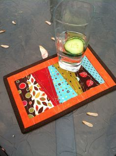 Good idea, but a little bigger would make a super cute place mat!