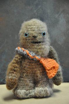 CHEWBACCA  AMIGURUMI Crochet  Yarn Star by Joysyarnthreadpaint, $15.00