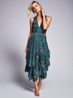 Catching Glances Midi Dress from Free People!