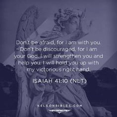 Strength and faith in God. He will help you through all your struggles. Such an awesome thing to remember