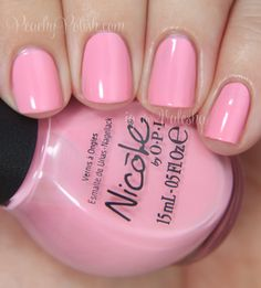 "Nicole by OPI ""At Least I Pink So"" - Peachy Polish"