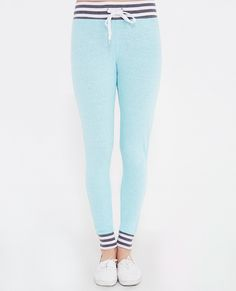 Striped Waistband Joggers | Wet Seal