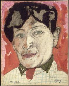 Autoportrait,1907  Chagall Marc (1887-1985)
