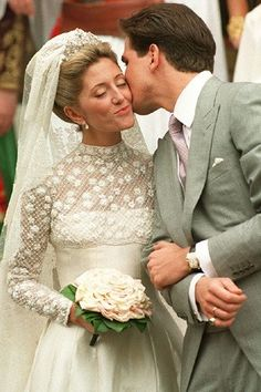 Prince Pavlos of Greece and Marie Chantal Miller July 1, 1995