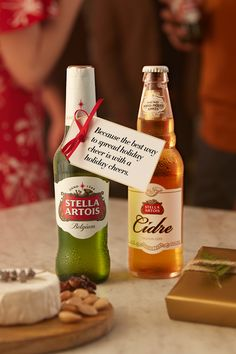 It's easy to fall into the mindset that presents = happiness during the holidays. But as more and more of us are becoming drawn toward experiences instead of material possessions, make time to have a Stella Artois with your friends and family - because the best way to spread holiday cheer is with a holiday cheers.