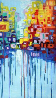 "Saatchi Art Artist Rodolfo Vanni; Painting, """"Favela Hi-tech"" SOLD"" #art DR"