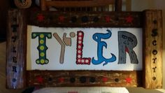 Tyler personalized name art