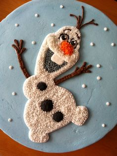 Olaf / Frozen cake