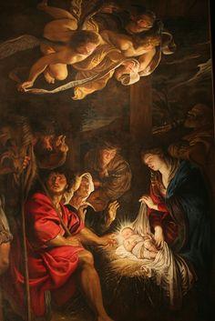 La adorazione dei pastori (Rubens, Fermo) - Pedro Pablo Rubens - Wikipedia, la enciclopedia libre