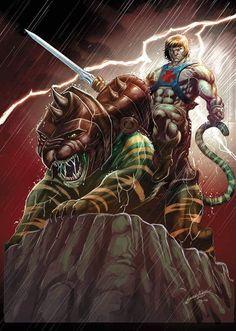 He Man and Battlecat