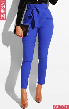 Women'S fashion pants & shorts online shopping – chic me Fashion Mode, Fashion Pants, Fashion Outfits, Womens Fashion, Fashion Stores, 50 Fashion, Latest Fashion, Fashion Trends, Casual Tops