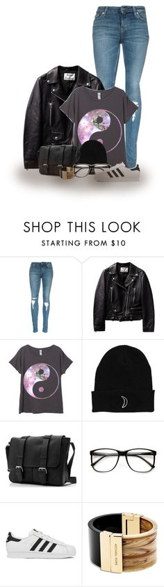 """""""Yin and yang"""" by abigaillieb ❤ liked on Polyvore featuring adidas, Michael Kors, women's clothing, women, female, woman, misses and juniors"""