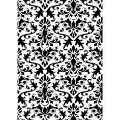 Darice® Embossing Essentials 5 x 7 inch Embossing Folder - Damask Background