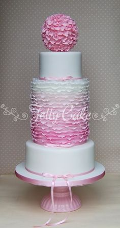 My favourite cake from last year's Squires Kitchen Exhibition by JellyCake. I still love it