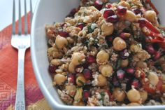 Impeccable Taste: Bulgur, Pomegranate and Walnut Salad