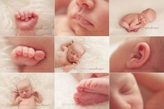 Baby fingers and toes