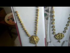 YouTube Temple Jewellery, Jewelry Collection, Gold Necklace, Chain, Mom, Youtube, Gold Pendant Necklace, Mothers, Youtubers