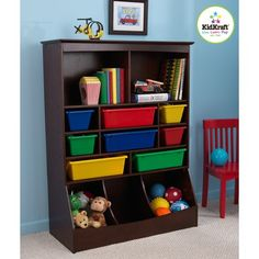 KidKraft Wall Storage Unit - Looks great for toy storage in the playroom!