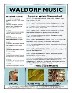 Home Music Making: Waldorf School verses Homeschool