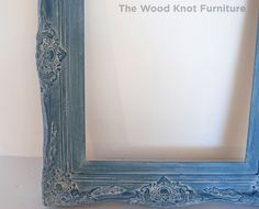 SOLD Antique Two Frames And Painted With by TheWoodKnotFurniture