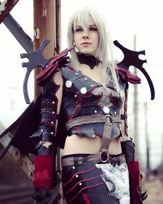 Aranea Highwind Final Fantasy XV Shooting by Wolf Studio Amazing indutrial place : Ain . #Aranea #FFXV #FinalFantasyXIV #finalfantasycosplay #cosplaygame  #cosplaying #armor #cosplayarmor #worbla #evafoam #cosplayer #araneahighwind
