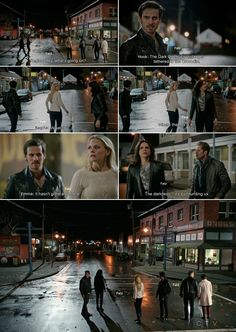 """Hook, Emma, David, Mary Margaret, Regina and Robin - 4 * 22 """"Operation Mongoose Part 2"""" #CaptainSwan #Snowing #OutlawQueen"""