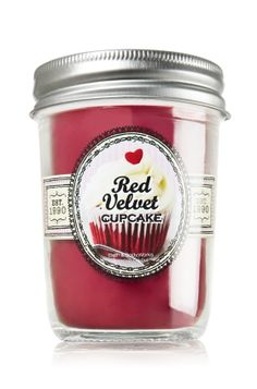 The Sweet Shop is now open with #BathAndBodyWorks. Take home the Red Velvet Cupcake Candle.
