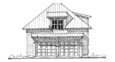 Garage Plan 73801 - Historic Style 2 Car Garage ApartmentPlan with 471 Sq Ft, 1 Bed, 1 Bath Family House Plans, Best House Plans, Country House Plans, Garage Plans, Car Garage, Garage Ideas, Garage With Room Above, Eden Design, Electrical Layout