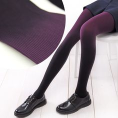 6 Colors Gradual Color Tights SP153813