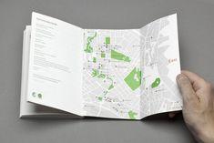 Leaflet Design, Map Design, Layout Design, Print Design, Map Layout, Editorial Layout, Editorial Design, Oslo, Publication Design