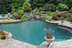 Custom Old Chicago Pavers With Charcoal Border Pool Deck