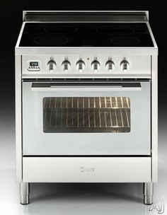 Ilve Upsi76mpi 30 Professional Style Induction Cooktop And Electric Oven With Sealed Gl 4