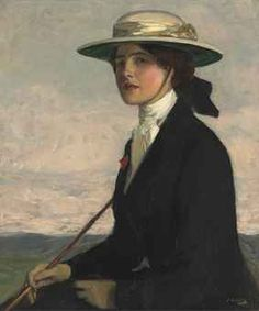 Sir John Lavery, The Little Equestrienne, 1909. o/c. 30 x 25 inches. Christie's sale May 2013. Lot 181
