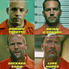 A spinoff of The Fate of the Furious, focusing on Johnsons US Diplomatic Security Agent Luke Hobbs forming an unlikely alliance with Stathams Deckard Shaw. Vin Diesel, Fast And Furious Memes, Fast And Furious Actors, Michelle Rodriguez, Gal Gadot, Joe Cole, Dominic Toretto, Fate Of The Furious, Furious Movie