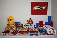 Lego, ninjago Birthday Party Ideas | Photo 7 of 40 | Catch My Party
