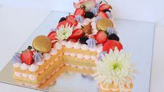 Alphabet Cake - Trending Cake 2018