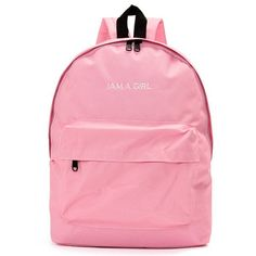 Women Casual Pure Color Canvas School Bags Backpack Shoulder Bags