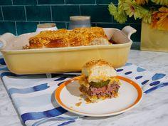 The Easiest Cheeseburger Sliders recipe from Kitchen Sink via Food Network