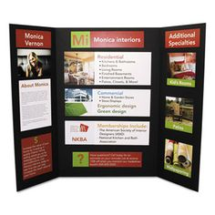 Cfc-Free Polystyrene Foam Premium Display Board, 24 X 36, Black, 12/carton