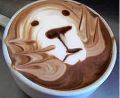 somewhere there is an adpi barista who wants to make my coffee look like this every single time! <3 alphie!