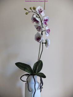 felted orchid