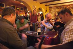 Traditional Music (Ireland). 'Western Europe's most vibrant folk music is Irish traditional music, which is best expressed in an old-fashioned pub in County Clare, the unofficial capital of Irish music.