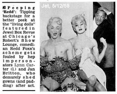 Lynne Carter, Jan Britton and Redd Foxx
