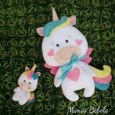 Luana Foam Crafts, Diy And Crafts, Crafts For Kids, Unicorn Crafts, Sewing Toys, Felt Fabric, Felt Ornaments, Christmas Ornaments, Felt Toys